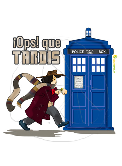 Dr Who ¡Ops! que Tardis